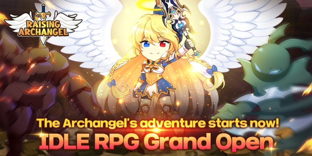 Raising Archangel is an idle RPG about making a newbie angel more powerful, available now for iOS and Android