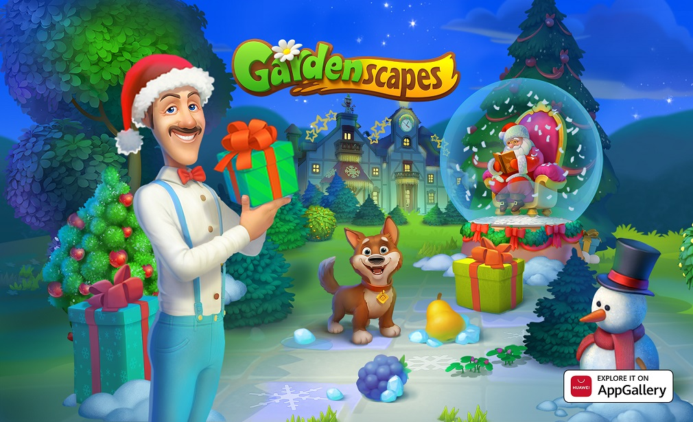 Gardenscapes is now available on AppGallery with exclusive cashback deals on offer