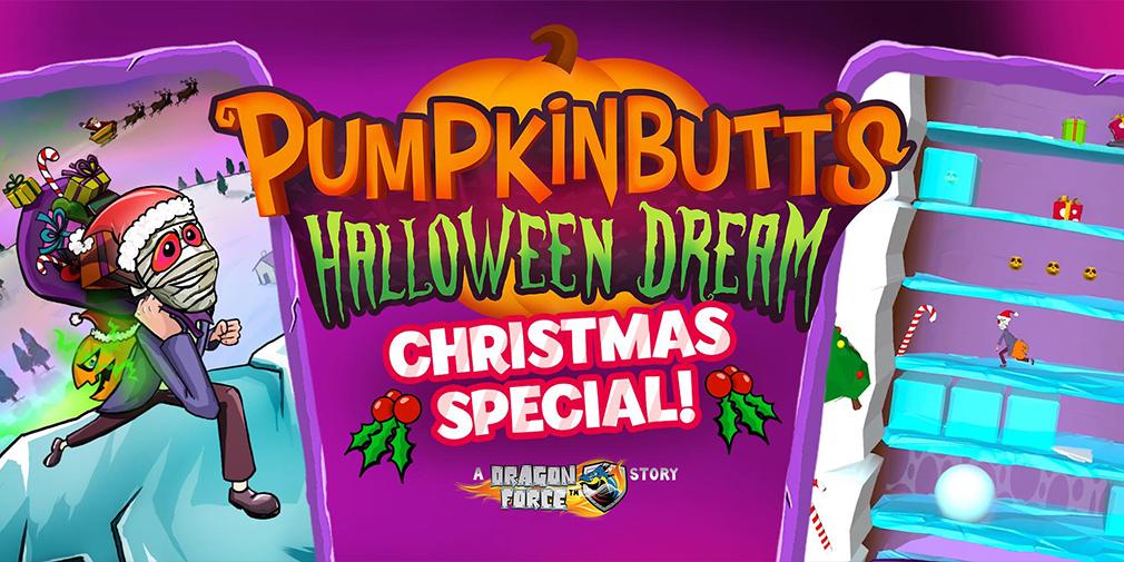 Pumpkinbutt's Halloween Dream's latest update introduces 40 festive-themed levels