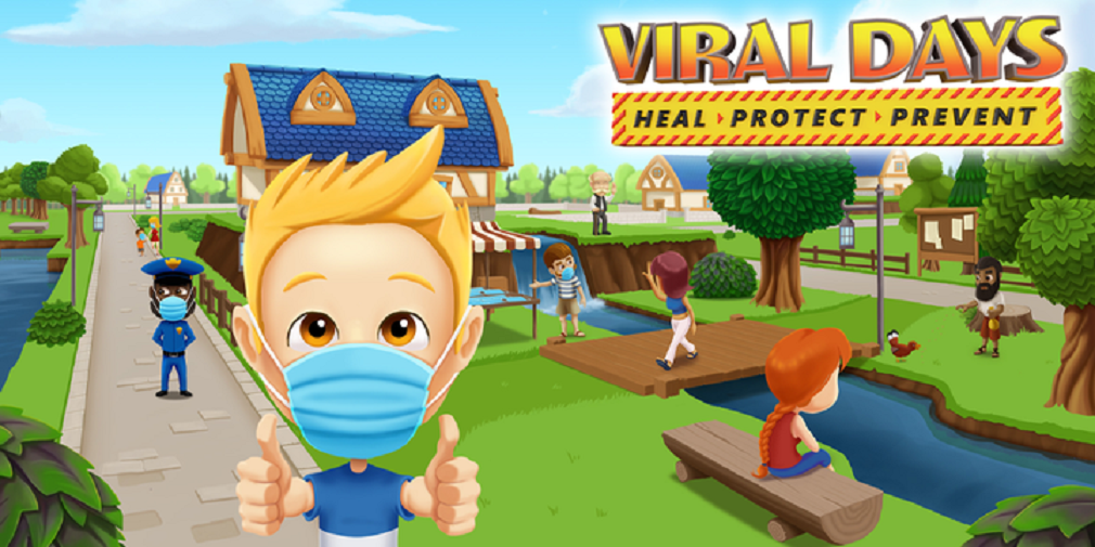 Viral Days is a brand new strategy game that supports the fight against COVID-19