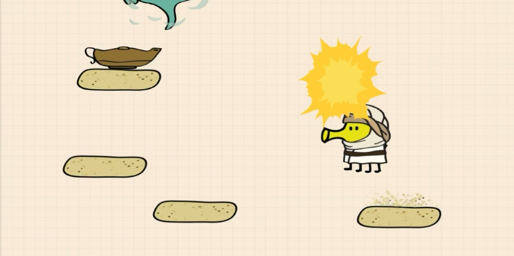 Doodle Jump 2, a sequel to the popular tilt-controlled platformer, is available now for iOS