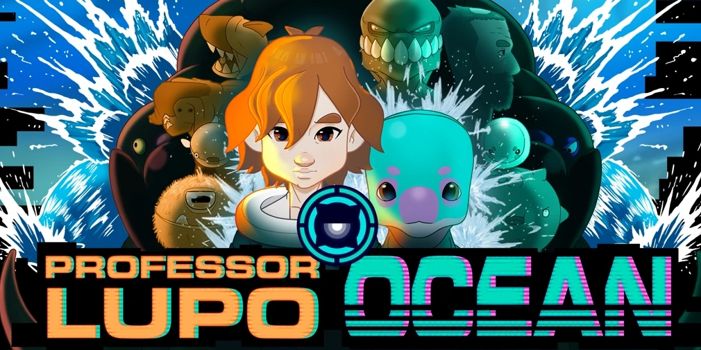 Professor Lupo: Ocean is a puzzle adventure game that's set to release for iOS, Android and Switch today