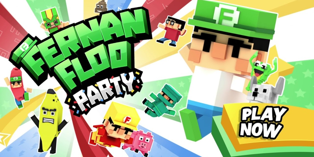 Fernanfloo Party is a casual game that's available now for iOS and Android, created in collaboration with the popular YouTuber