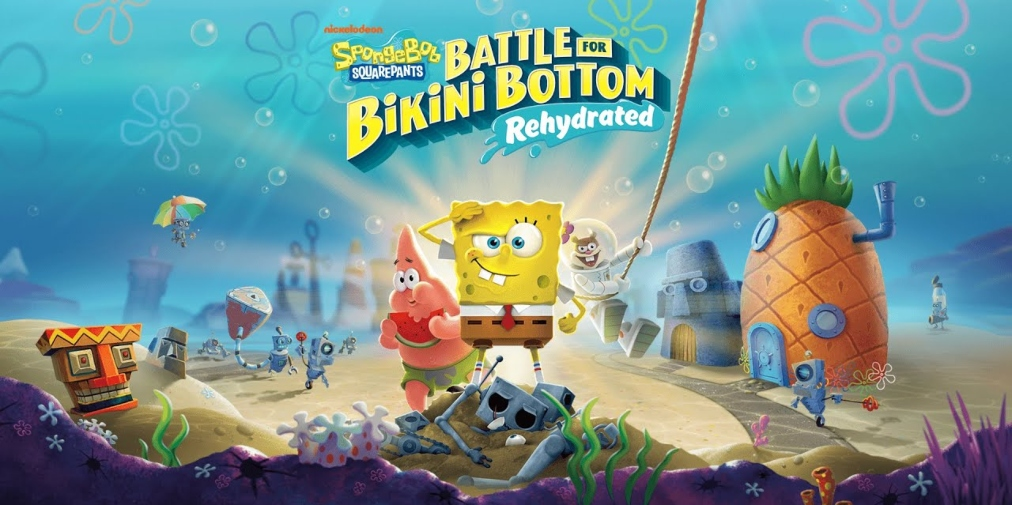 SpongeBob SquarePants: Battle for Bikini Bottom Rehydrated is out today on iOS and Android