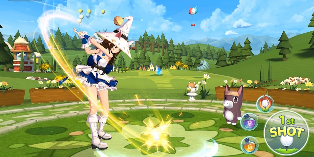 Birdie Crush, the anime-styled golf game, will release for iOS and Android next week
