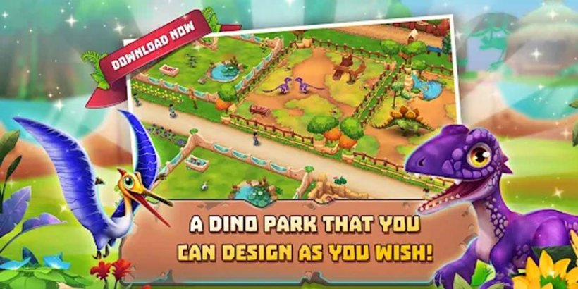 Dinosaur Park: Primeval Zoo adds ice cream collecting challenge and a new Hadrosaurus in summer event