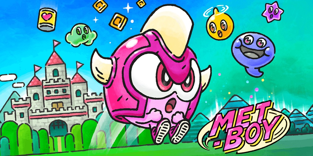 Metboy is a cute combination of Flappy Bird and Resogun and it's out now on mobile