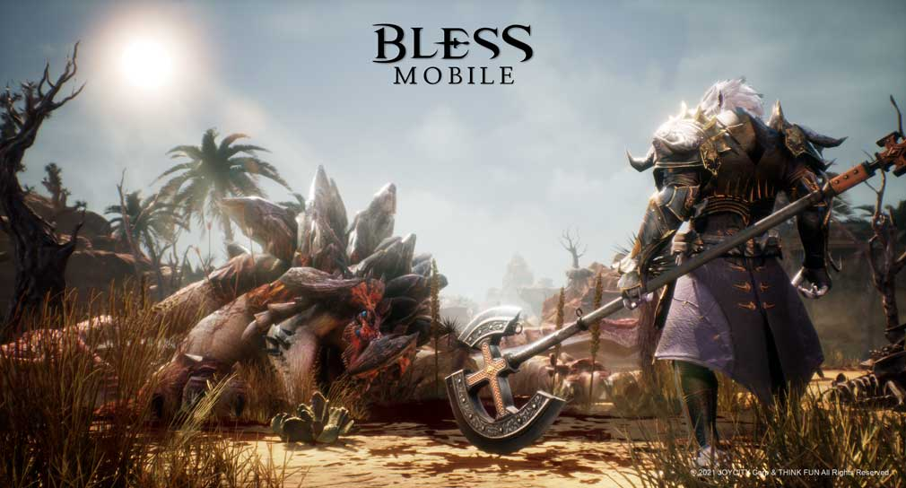MMORPG Bless Mobile is now open for pre-registration on the App Store and Google Play