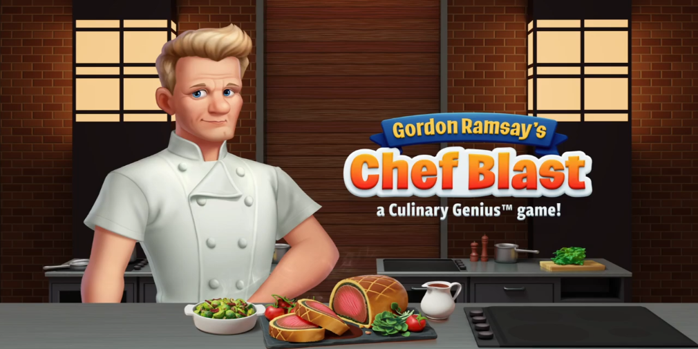 Gordon Ramsay: Chef Blast is a new culinary puzzle game out now on mobile