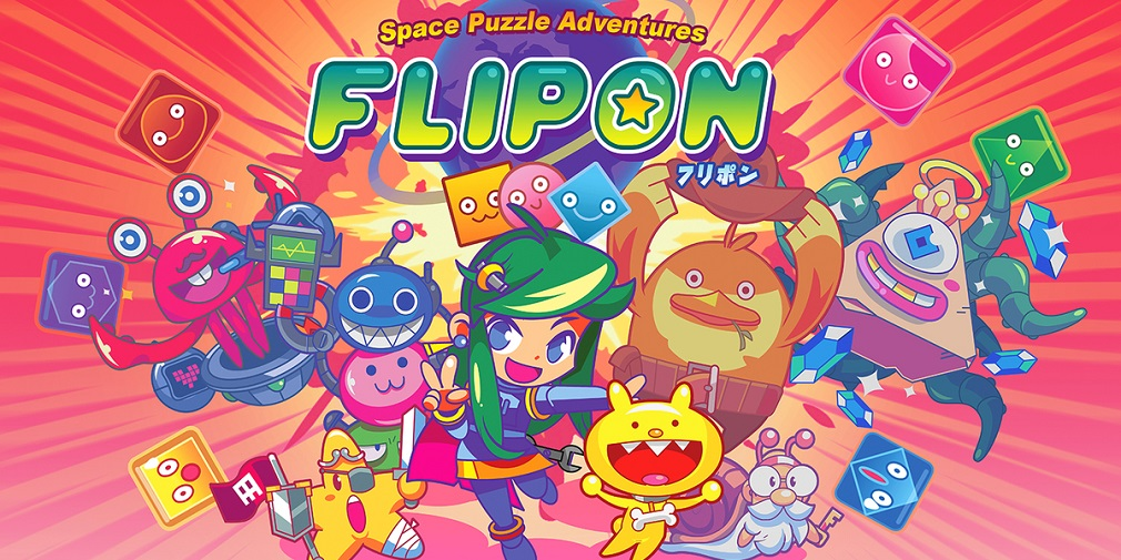 Flipon is a cute block-busting puzzle game out now for iOS and Android