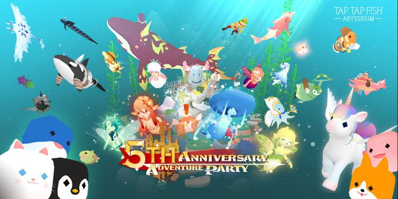 Abyssrium celebrates 5th anniversary with new fishies, exclusive cosmetics, and a mini-game for fan-fave Corgi