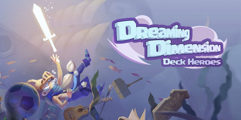 Dreaming Dimension: Deck Heroes, the card battling roguelike, is now available for iOS