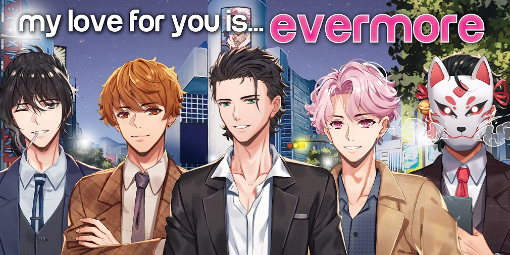My Love For You is Evermore is a new otome visual novel out now for iOS and Android