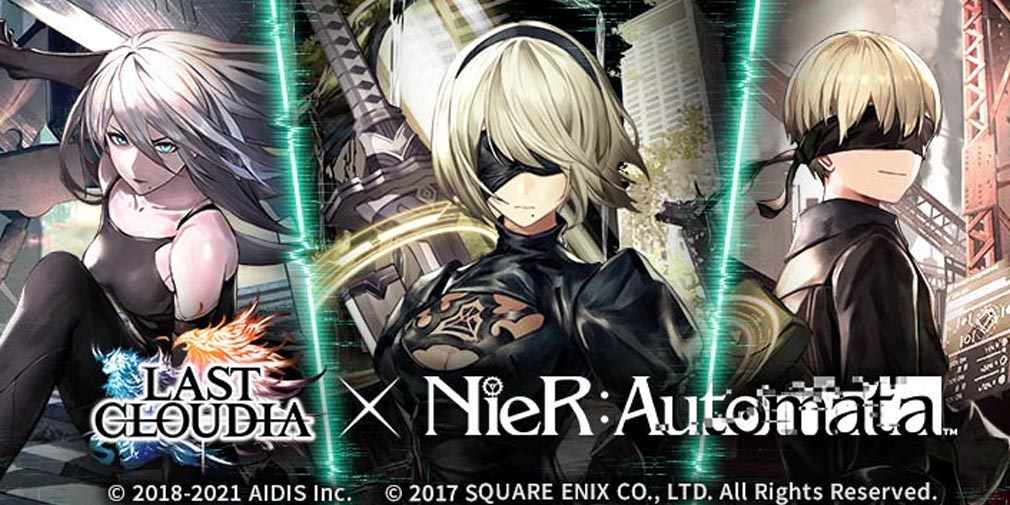 Last Cloudia x NieR: Automata collab part 2 will feature social media