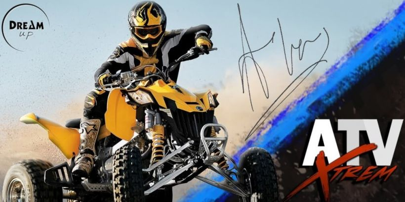 ATV XTrem is a quad bike racing game that's available now for iOS and Android