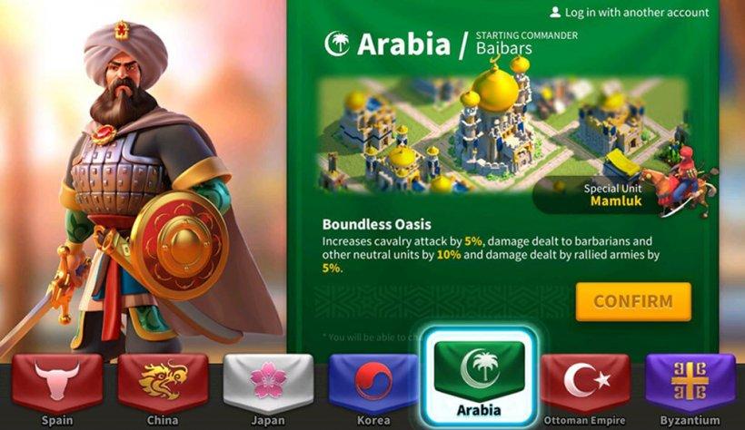 rise of kingdoms - arabia