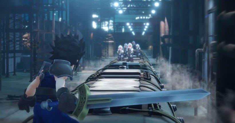Final Fantasy VII: Ever Crisis gameplay