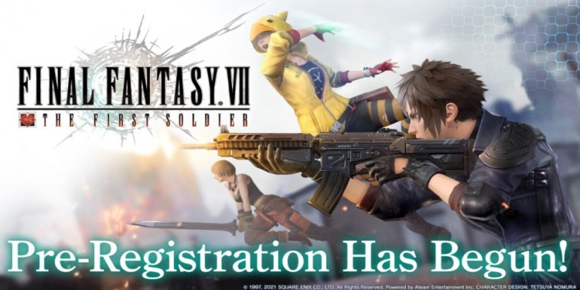 Final Fantasy VII: The First Soldier begins pre-registration and launches the Ambassador Program