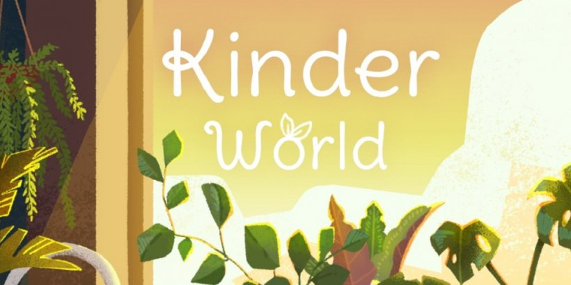 Kinder World releases the first half of plants update for iOS and Android