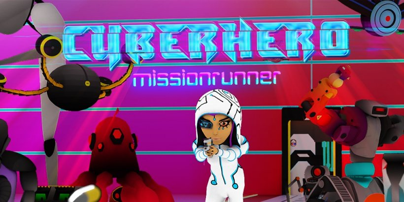Cyber Hero Mission Runner is an upcoming fast-paced roguelike coming to Android on 24th March