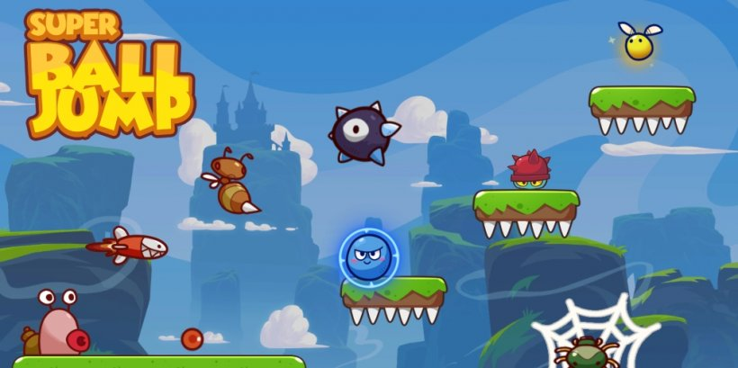 Super Ball Jump: Bounce Adventures is an upcoming platformer for iOS and Android that blends Angry Birds with Super Mario