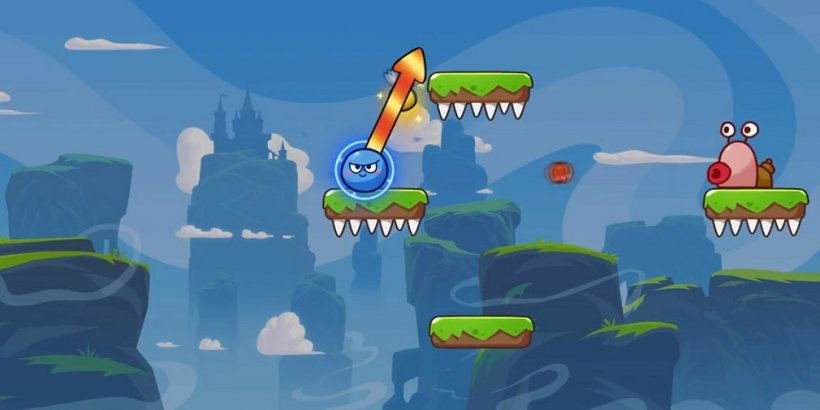 """Super Ball Jump: Bounce Adventures is """"Angry Birds meets Mario"""" in a new platformer experience on iOS and Android"""