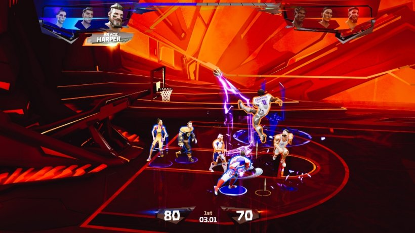 Ultimate Rivals: The Court - Three things you should know about the arcade basketball game