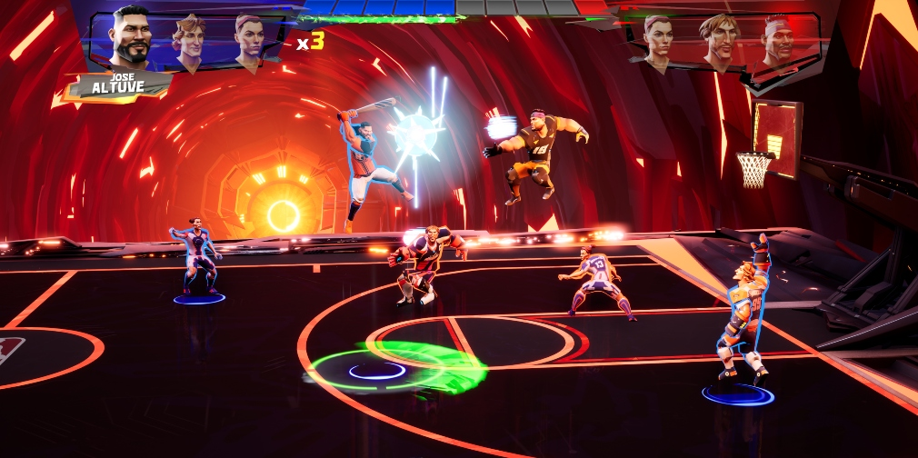 Ultimate Rivals The Court gameplay
