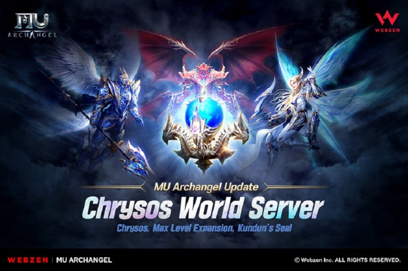 MU Archangel releases Chrysos World Server, Kundun's Seal, and other new content in first massive update