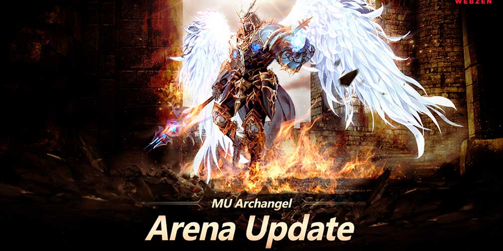 MU Archangel adds new arena modes and crusade equipment in latest update
