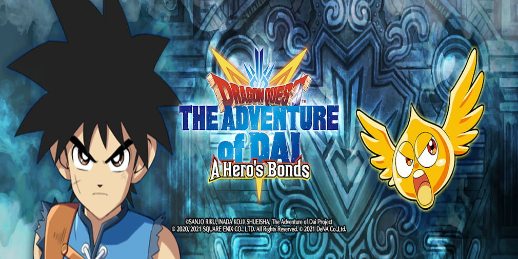 Dragon Quest The Adventure of Dai : A Hero's Bonds prend date et ouvre ses précommandes sur iOS