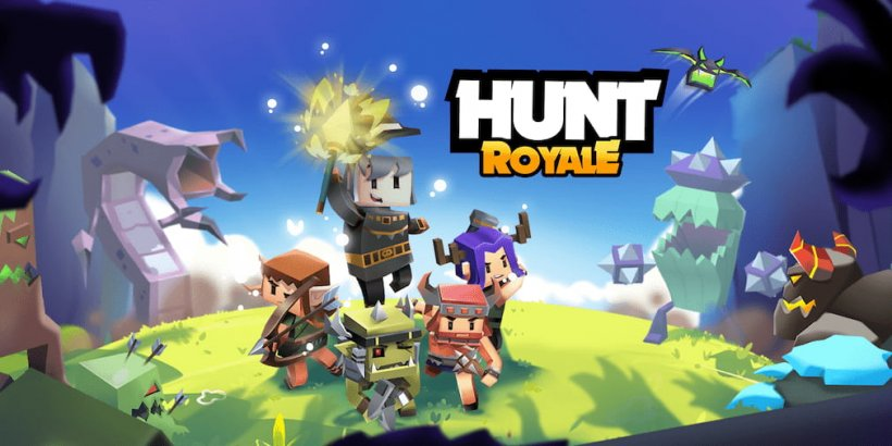 Hunt Royale is an unique Battle Royale game by BoomBit that's out today for Android and iOS