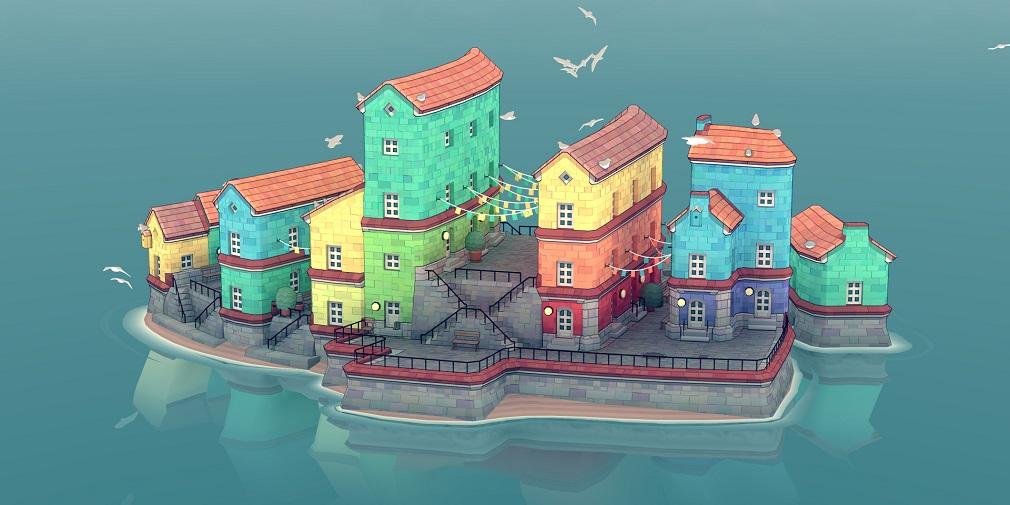 Créez l'île de vos rêves dans Townscaper, de sortie en août sur mobiles et Switch