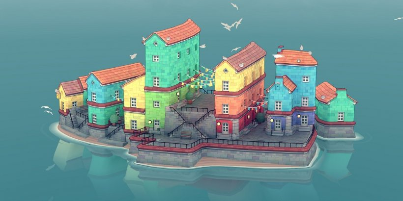 Cute city builder Townscaper is expanding to mobile and Switch later this year