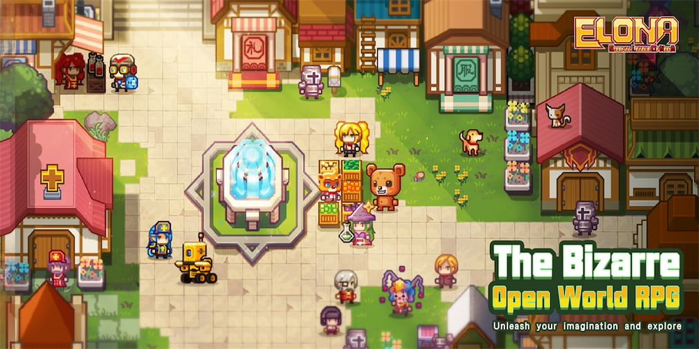 Elona Mobile, the quirky open-world JRPG, is now available for Android and iOS