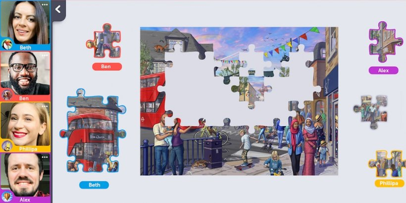 Jigsaw Video Party is a chill multiplayer hangout game out for iOS and Android