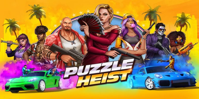 Puzzle Heist is a new match-3 RPG, available now for iOS and Android in selected regions