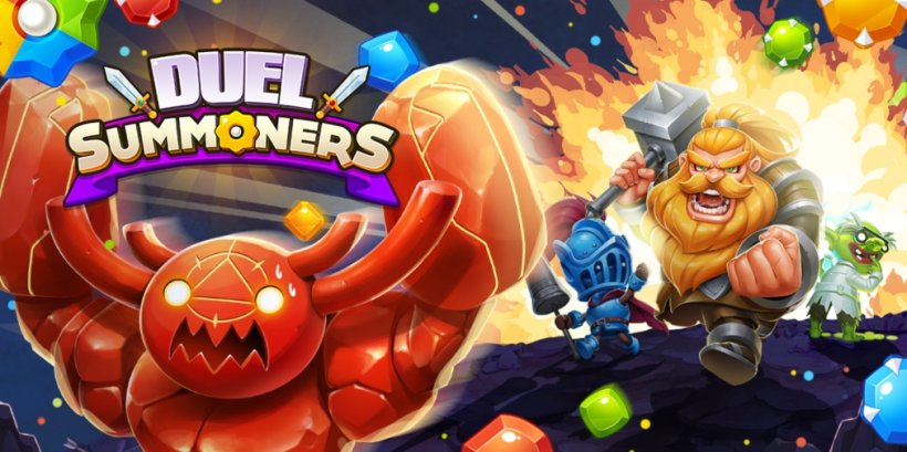 Duel Summoners is a head-to-head match-3 puzzler that's available now for iOS and Android