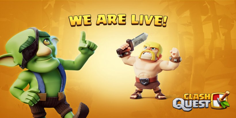 Supercell's Clash Quest has now soft-launched in five regions