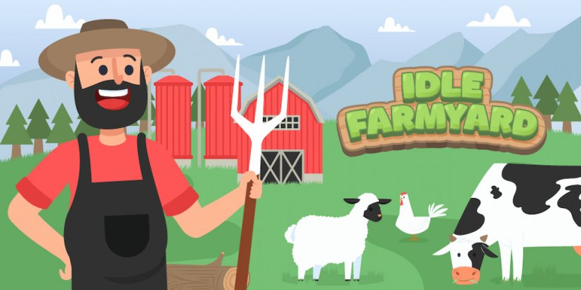 Idle Farmyard is an upcoming farming sim that's heading for iOS and Android
