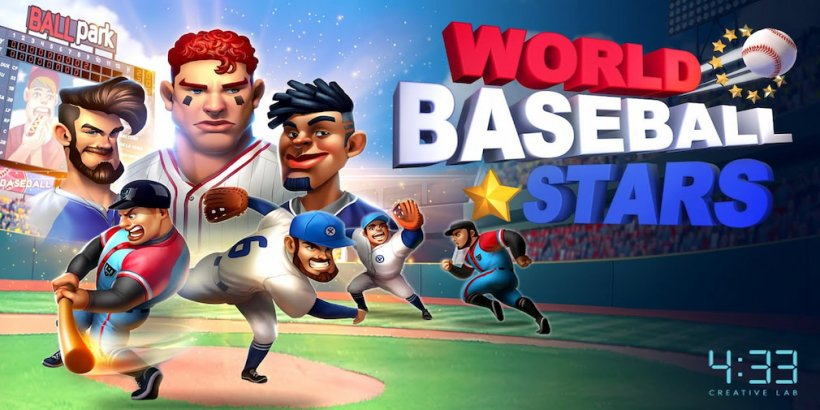 World Baseball Stars is a new casual baseball game for iOS and Android