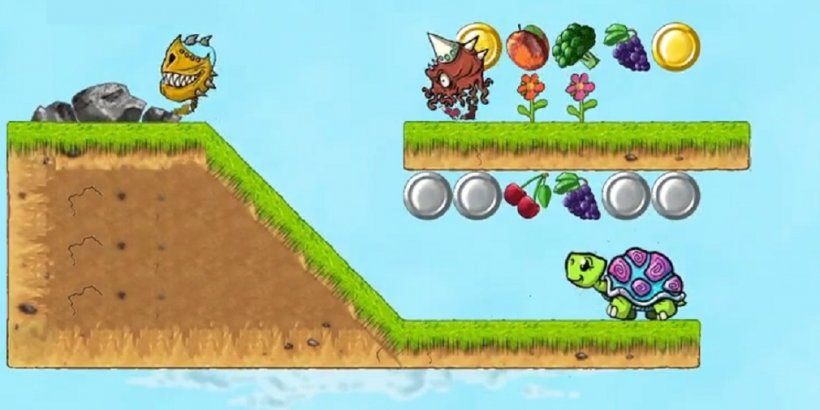 Bungee Turtle is a physics puzzler out now on iOS and Android
