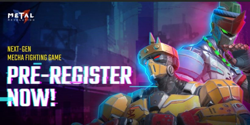 Metal Revolution is a unique cyberpunk fighting game with mechas, now open for pre-registration on Google Play