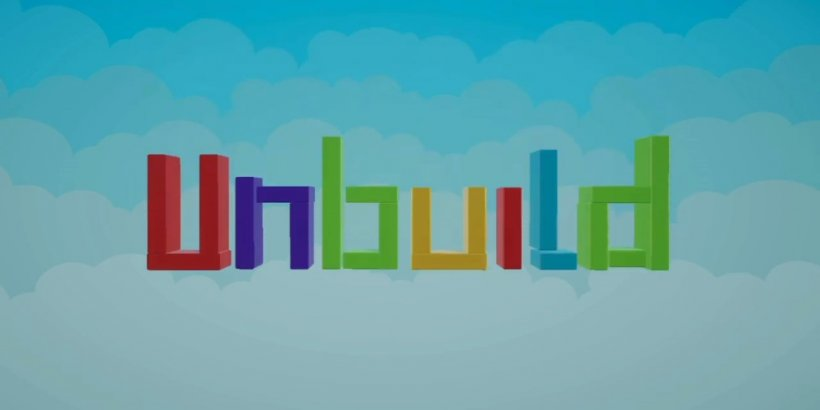 Unbuild is a puzzle game about disassembling tower blocks, out now on iOS
