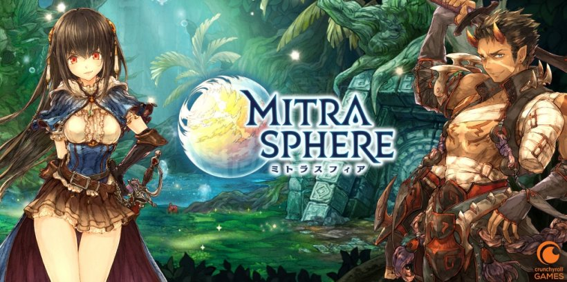 Mitrasphere is an upcoming RPG for iOS and Android from Crunchyroll Games that's previously released in Japan