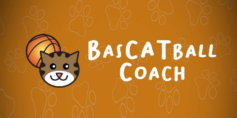 BasCATball Coach is a sports game about coaching basketball-playing cats out now