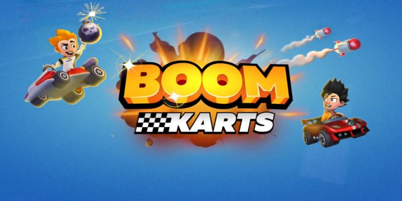 Boom Karts, a multiplayer karting game from the creators of Hill Climb Racing, is out now for Android