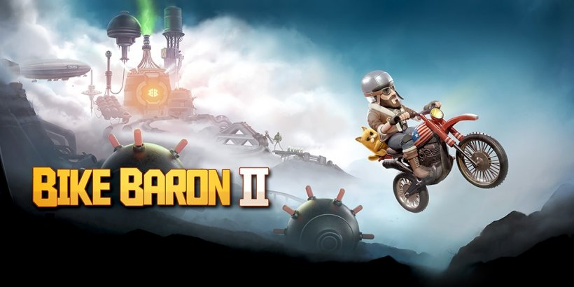 Bike Baron 2, Cornfox & Brothers's sequel to the stunt-filled motorbike mayhem, is now open for pre-order