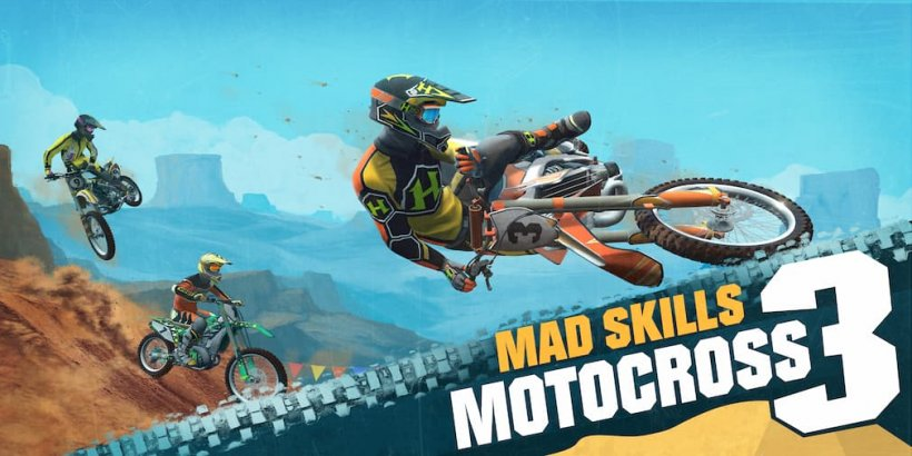 Mad Skills Motocross 3 is an upcoming racing title that's heading for Android and iOS