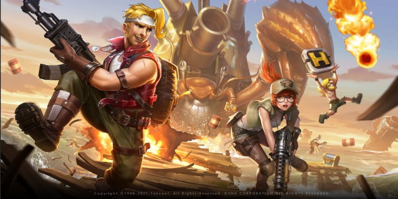Timi Studios' Metal Slug Mobile has unveiled its first gameplay video ahead of the beta version's release